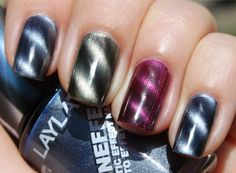 layla magnetic nail polish  Available NOW at www.candygirl.co.nz