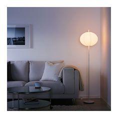 SOLLEFTEÅ Stojacia lampa, biela okrúhly biela okrúhly biela -
