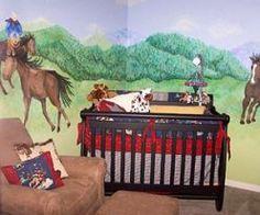 Cowboy Theme Baby Nursery | Western Cowboy Baby Nursery Room and Decor