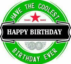 Heineken bday