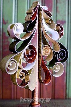 Рождественское украшение своими руками.