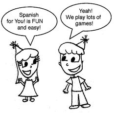 Free simple worksheets, some including audio, to supplement any Spanish learning you may already be doing.