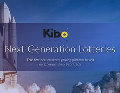 Kibo Lotto Launched in Ethereum Test Network   Bitcoin Upload
