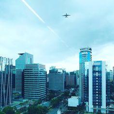 La City di São Paulo (una parte) che in realtà sarà cinque volte quella di Londra.