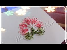 Mekik Oyası Çok Hoş Bir Çiçek Modeli Yapılışı