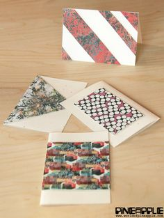 Learn how to make unique and personal printed leather Greeting Cards for the upcoming holiday season.