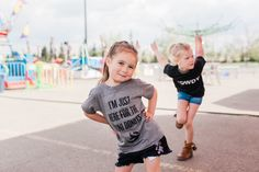 Perfect for the midway, rodeo, PNE, Stampede and K-Days. Howdy, This Isn't my First Rodeo. I'm Just Here for the Mini Donuts. Hold my Bear. Cotton Candy and Mini Donuts Rodeo Girls, Mini Doughnuts, Calgary, Cotton Candy, Bear, Running, How To Wear, Shirts, Shirt
