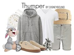 """Thumper"" by leslieakay ❤ liked on Polyvore featuring The Men's Store, Boohoo, Lacoste, Uniqlo, Thumper, Puma, men's fashion, menswear, Easter and disney"