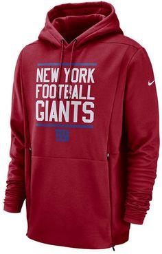 Nike Men s New York Giants Sideline Player Local Therma Hoodie Football  Team Logos d9dd3fdb5