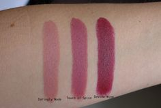 The Maybelline Creamy Matte Lipsticks are a new permanent line that was launched this Fall. ...