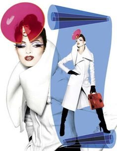 Serge Lutens? looks like his style but can't be...