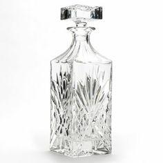 shannon by godinger dublin crystal whiskey decanter