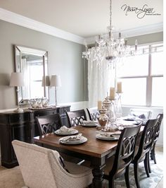 Nissa Lynn Interiors And Decor Dining Room