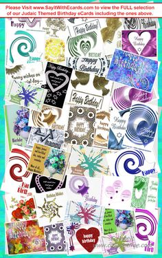 Jewish Birthday Ecards E Cards Judaic For Birthdays Greetings