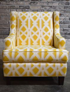 Custom Wingback Chair -- Handcrafted by EcoBalanza
