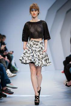 KATA SZEGEDI A/W 14 - TONI&GUY Fashion Week Budapest