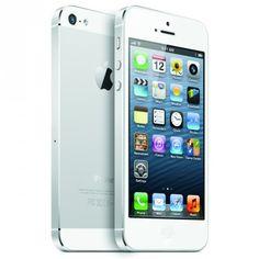 Celular Apple iPhone 5 White & Silver 16GB #Celular #Apple