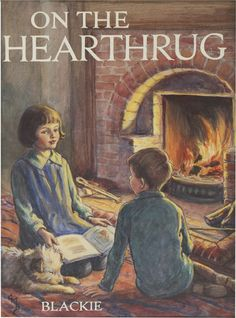 CICELY MARY BARKER On the Hearth Rug,book cover.