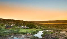 The main lodge at Bushmans Kloof has 16 rooms and suites for up to 34 guests, all in splendid luxury