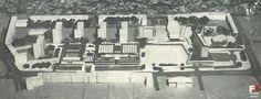 Lata 1974-1977 , Koncepcja urbanistyczno-architektoniczna z lat siedemdziesiątych, zagospodarowania pomiędzy ulicami Ozimską a Kośnego. Jedyny niezrealizowany element tej układanki to hotel ,,Orbisu,, na Placu Teatralnym na zapleczu działki obecnego budynku mieszkalnego Elektrowni Opole na Katowickiej ( tu go nie ma ) i terenu obecnego parkingu z wjazdem od Ozimskiej ) oraz na zapleczu ówczesnego kina ,,Kraków,, ( obecnych kortów tenisowych )