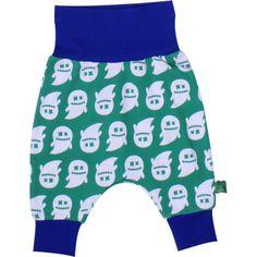 Green Cotton: Pantalón ecológico para bebé con fantasmas - Ghost