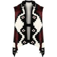 Masie Faux Fur Aztec Gillet (3.845 RUB) ❤ liked on Polyvore featuring plus size women's fashion, plus size clothing, plus size outerwear, plus size vests, wine, faux fur waistcoat, fake fur vest, waistcoat vest, aztec print vest and sleeveless vest