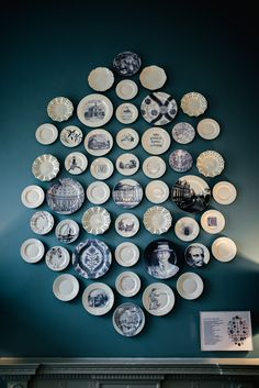 Direct printed plates were then installed in a collection to create a bespoke artwork M Gallery, Cheltenham Artwork Display, 3d Artwork, Clutter, Hospitality, Bespoke, 3d Printing, Sculpture, Personalized Items, Elegant