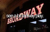 broadway play.
