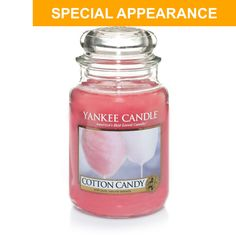 The scent of this board-walk favourite is perfectly captured in all its pure, sticky sweet delight. Yankee Candles, Scented Wax, Cotton Candy, Fragrance, Pure Products, Board, Sweet, Decor, Candles