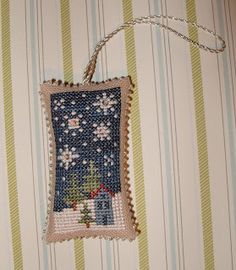I love this!! This may return me to cross stitch. Been a long time...