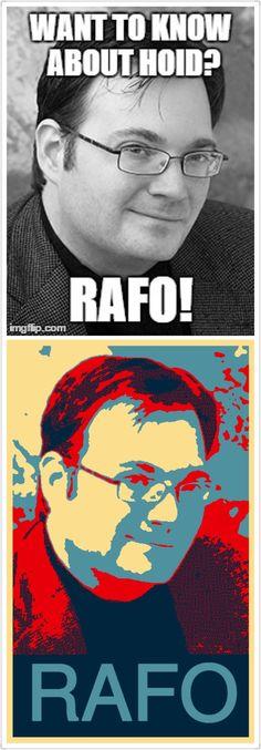 Brandon Sanderson Meme: RAFO!