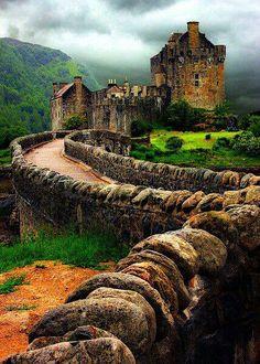 @Jonathan Nafarrete Fox's castle - Eilean Donan :-) - loved our trip there.