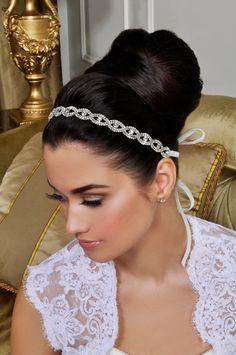 Bridal Headband  Beautiful Wedding Tiara  Crystals by AlisaBrides, $110.00