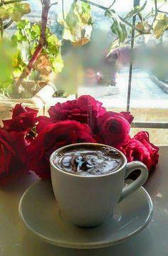 Brown Coffee, Coffee Love, Morning Joe, Good Morning, Cafe Shop Design, Breakfast Tea, Latte Art, Chocolate, Tea Light Holder