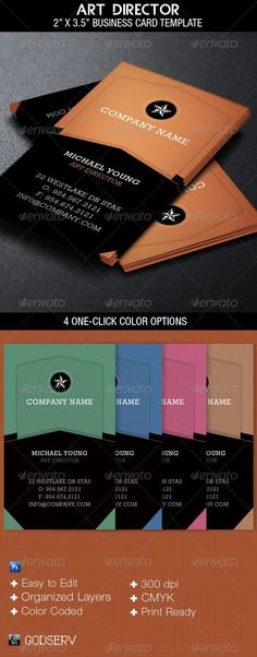Corporate Business Card Corporate business, Business cards and - name card format
