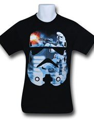 Star Wars Stormtrooper Fill 30 Single T-Shirt