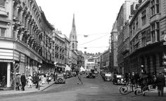 Photo of Brighton, North Street - Francis Frith Brighton Rock, Brighton Sussex, Brighton England, Brighton And Hove, Brighton Photography, Local History, Photo Archive, Historical Photos, Old Photos