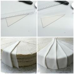 BRILLIANT Cake decorating tips! Just translate the site and away you go! #cakedecoratingtechniques