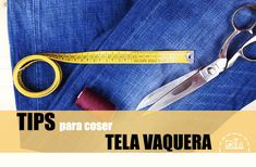 Conoce a fondo los secretos de más de 70 telas diferentes - Skarlett Costura Personalized Items, How To Sew, Sewing Lessons, Sewing Tutorials, Sewing Projects, Tablet Cases, Professional Nails