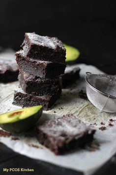 These fudgy chocolate brownies are gluten-free, sugar-free and low carb!