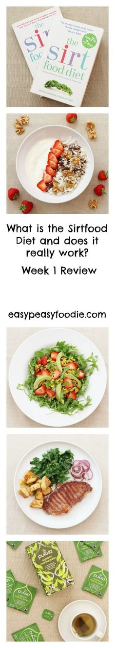 Hailed as the new 5:2, endorsed by numerous celebrities and with promises of 7lb weight loss in the first 7 days, is the Sirtfood Diet too good to be true? I had to check it out for myself! This is my end of week 1 review... #sirtfood #sirtfooddiet #sirtfoodrecipes #sirtfooddietreview #greenjuice #sirtfoodgreenjuice #greenjuicesalad #healthyfood #weightloss #weightlossplan #easypeasyfoodie #cookblogshare Diet Recipes, Healthy Recipes, Healthy Food, Eating Healthy, Recipies, Ville France, Diet Meal Plans, Meal Prep, Easy Peasy