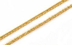 Retiazka dámska v 14 karátovom žltom zlate
