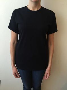 3490f7a249e Luxury Women s Crewneck T-Shirt-Black