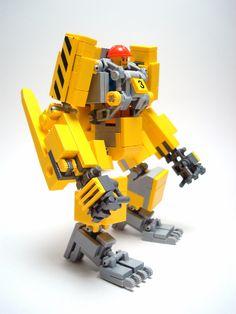 Lego cargo loader