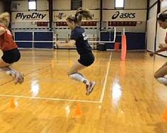 This summer, improve your strength and skills with volleyball workouts and drills you can perform at home from STACK Expert Sarah Coffey. Volleyball Skills, Volleyball Training, Volleyball Workouts, Play Volleyball, Basketball Skills, Volleyball Quotes, Coaching Volleyball, Volleyball Players, Girls Basketball