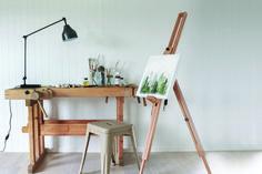 Plankett - Faspanel 8 bord Desk, Shelves, Furniture, Home Decor, Create, Shelving, Homemade Home Decor, Desktop, Writing Desk