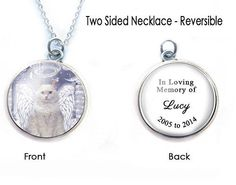 Cat angel memorial necklace. Personalized it anyway you want.  Cherish your loss cat or dog. It can also make into Keychain. Check it out @jewelrylized.com  search cat.  #handmadenecklace #cat #catoftheday #catlovers #catjewelry #catnecklace #necklace #handmade #personalized #personalizednecklace #jewelrylized #handmadewithlove #catloversnecklace #reversiblenecklace  #twosidenecklace  #doublesidenecklace #photonecklace #catsofinstagram #cats #petmemorial #petnecklace #petlover #catmemories…