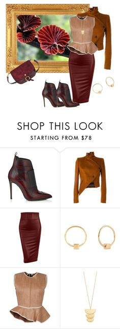 """""""Strong personality!!!"""" by bv-b ❤ liked on Polyvore featuring Jimmy Choo, Ann Demeulemeester, LE3NO, Lee Renee, Ter Et Bantine, Gorjana and Chloé"""
