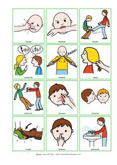Emotions Activities, Toddler Learning Activities, Kindergarten Activities, Educational Activities, Autism Preschool, Preschool Rules, Preschool Education, Pecs Pictures, Behavior Cards