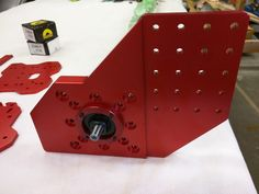 RoverCNC OX - OX Base Plates (4pcs. Base Joining Plates) - RED - SNB Solutions